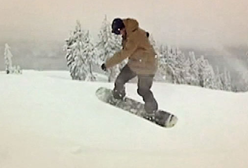 Pre-Christmas Powder in Heather
