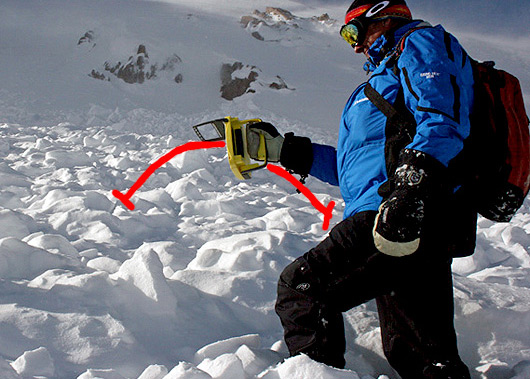 Avalanche Beacon Electronic Interference