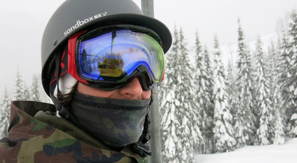 Rager snowboarding Stevens pass