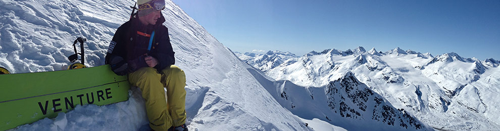 Alaska Snowboarding RV Newbies