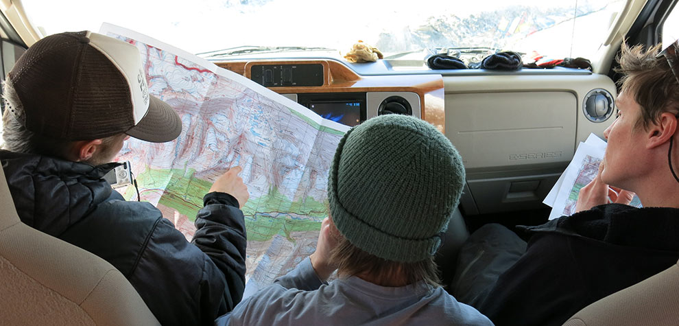 Topo map review in the RV