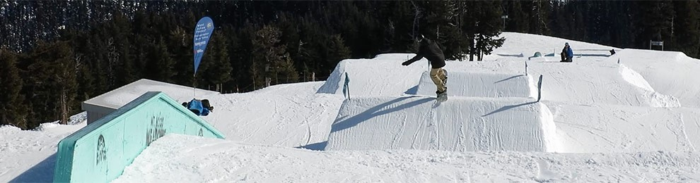 February Park Laps With Kelso and Ladd