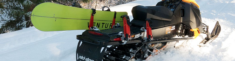 Ski-Doo Ski & Snowboard Rack Review
