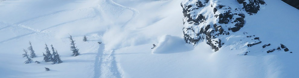 Late February Adams Deep Wind Blown Riding
