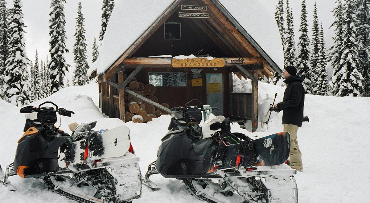Nelson Snowgoers cabin